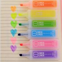 6色荧光笔 书写工具 彩笔 6支装儿童节礼物 6色装