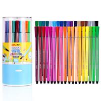 得力(deli) 7068 绚丽多彩可洗水彩笔/绘画笔 36色/筒 包装颜色随机 当当自营