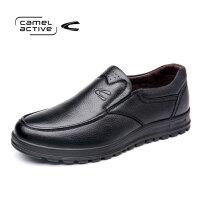 骆驼动感(camel active)男士休闲牛皮超软潮流舒适休闲鞋男单鞋