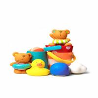 宝宝洗澡玩具 儿童花洒漂浮喷水发条小水鸭子婴儿男女孩戏水儿童礼物