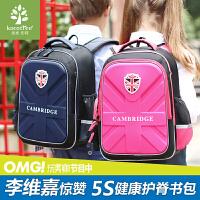 韩国kk树书包小学生女6-12岁儿童书包女童3-6年级护脊双肩包