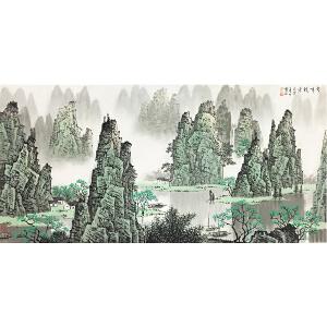 白雪石《山水画》著名画家