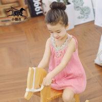 裂帛女童连衣裙夏装小女孩夏季无袖雪纺连衣裙儿童公主裙56160440