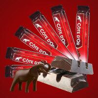 Cote D'or克特多金象 亿滋进口 牛奶巧克力 条装47g*6条 比利时进口 七夕* 休闲零食