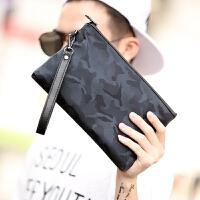 男士手包迷彩手拿包 韩版时尚男士新款手包 休闲街头手机包 潮流男包