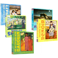 Mini Masters 英文原版 艺术启蒙 小小艺术家 大师名作 10册纸板书