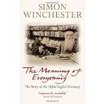 【中商原版】万物之要义 牛津英语词典编篡记 英文原版 Meaning of Everything Simon Winc
