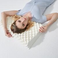 天然大颗粒乳胶枕头枕芯按摩护颈枕颈椎枕酒店休息枕