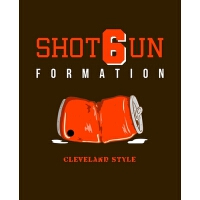 【预订】Shotgun Formation: Funny Cleveland Football Quote Compos