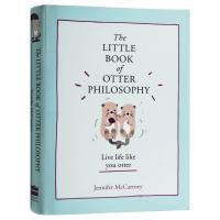 The Little Book of Otter Philosophy 英文原版书 水獭的哲学小书 树懒的哲学小书作者新