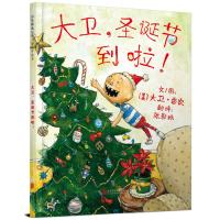 大卫,圣诞节到啦!――大卫不可以系列经典儿童绘本(启发童书馆出品)