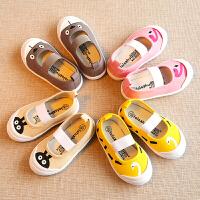 宝宝幼儿园室内鞋小童儿童帆布鞋