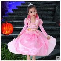 儿童冰雪奇缘公主裙女童长袖迪士尼花仙子连衣裙蓬蓬裙花童礼服女儿童服装支持礼品卡支付