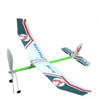 橡皮筋特惠飞机模型轻骑士拼装航空橡筋动力滑翔机航模