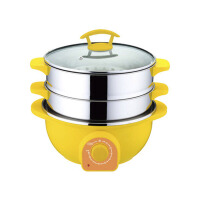 多功能家用智能电火锅电蒸锅电炖锅双层蒸笼