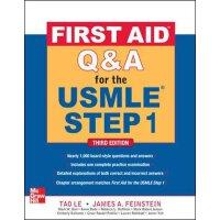英文原版 USMLE急救问答Step 1 美国执业医师资格考试 First Aid Q&A for the USMLE