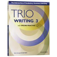 牛津Trio系列学术英语写作教材3 Trio Writing Level 3 Student Book with Onl