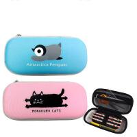学生文具袋儿童大容量笔袋简易文具盒男女生防水耐摔耐压文具盒 R252607