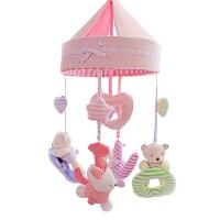 永恒的爱婴儿床铃多功能床挂宝宝音乐旋转毛绒布艺摇铃玩具