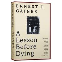 我的灵魂永不下跪 临刑前的后一课 英文原版小说 A Lesson Before Dying 垂死的教训 奥普拉推荐 电影