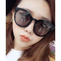 新款防紫外线太阳镜女 炫彩反光墨镜 大框眼镜 时尚防辐射眼镜 支持礼品卡