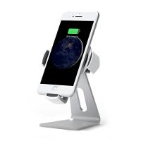 无线充电器 无线充电器桌面手机支架汽车用苹果8通用型车充iPhonex三星S9Plus出风口导航架 WP-1S 支架款
