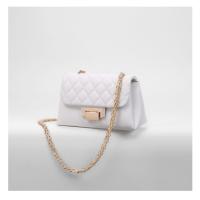2018新款潮菱格链条包小香风包单肩百女包搭设计包包女小众斜跨
