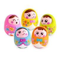 汇乐979点头不倒翁娃娃婴幼儿宝宝益智玩具1岁婴儿玩具 0-3-6个月