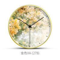 挂钟客厅个性创意时尚挂表现代简约家用潮流大气时钟北欧静音钟表