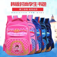 儿童书包小学生男女生6-12周岁1-3-6年级男孩男童双肩背包