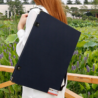 4K便携式画夹素描写生美术画板双肩8k素描画板6k写生速写夹A3画板素描写生套装初学者入门儿童画板夹