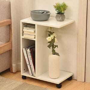 茶几 简约现代沙发边柜小户型可折叠多功能柜沙发边几小桌子可储物满额减限时抢家具用品