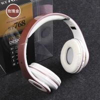 BT768无线蓝牙耳机插卡头戴式耳机运动立体声耳机折叠式耳机
