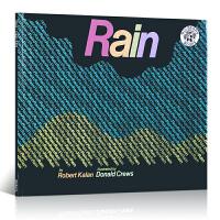 Rain 下雨 英文原版绘本 跟着Donald Crews生动的插画,简单的文字一起来体验一下下雨的情趣吧