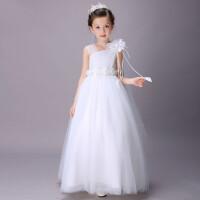 公主裙礼服长裙女童婚纱裙儿童蓬蓬裙花童裙钢琴表演服