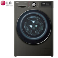 LG FQ10BV4 10.5kg蒸汽直驱变频滚筒超薄全自动洗衣机洗烘干一体