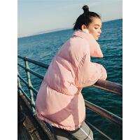 冬季反季面包服女短款蓬蓬2018新款韩版学生冬装加厚棉袄外套