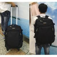 拉杆书包学生新品拉杆包男双肩拉杆新品双肩拉杆包背包大容量旅行袋
