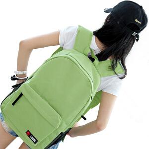 新款双肩包女韩版学院风旅行包简约潮流休闲包背包男中学生书包女