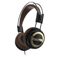 声籁 电音WP129I耳机头戴音乐双头梁轻便重低音出街表演带麦