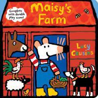 英文原版 小鼠波波的农场 立体场景玩具书 低幼启蒙认知 Maisy's Farm: Complete with Dur