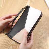 2018新款韩版女钱包长款拉链钱包女式手拿钱夹手机零钱包