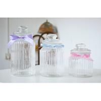 大号条纹密封罐许愿瓶许愿瓶幸运星玻璃瓶漂流瓶创意星星瓶