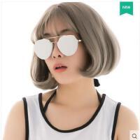 旅行眼镜户外防晒个性圆形炫彩复古眼镜新款太阳镜女士不规则墨镜