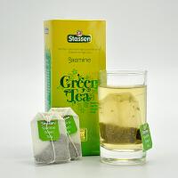 司迪生 精选茉莉绿茶1.5g*25茶包/盒 斯里兰卡锡兰绿茶袋泡茶
