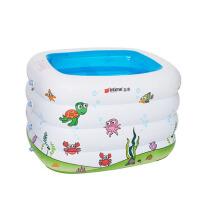 游戏水池 婴儿童长方印花水池 宝宝大游泳池 戏水池球池