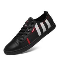 品牌男鞋透气休闲鞋欧洲站布鞋潮鞋小脚鞋35码36码夏季透气学生板鞋男