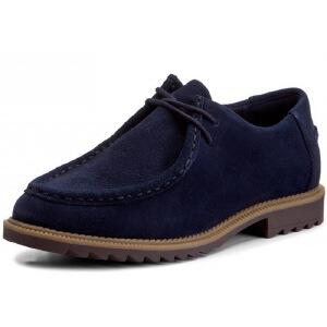 【香港现货】Clarks/其乐女鞋2017秋冬新款流苏时尚休闲鞋Griffin Mellow专柜正品直邮