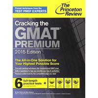 Cracking the GMAT Premium Edition with 6 Computer 【英文原版】普林斯