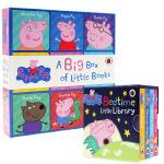 英文原版绘本 Peppa Pig A Big Box of Little Books小猪佩奇粉红猪小妹Peppa Pi